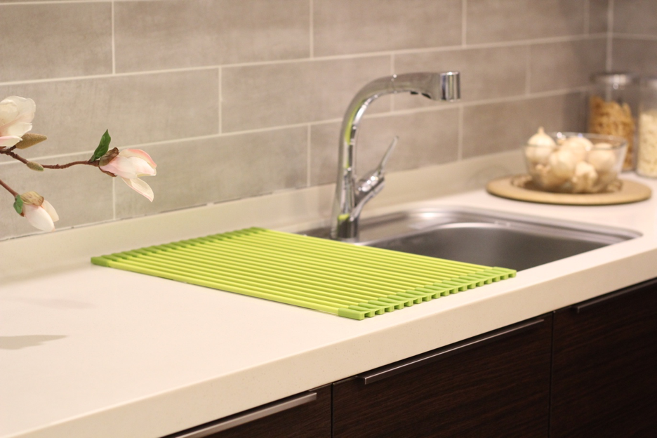 ... Introducing Innovative Silicone Drying Rack Rollmat Sink ...